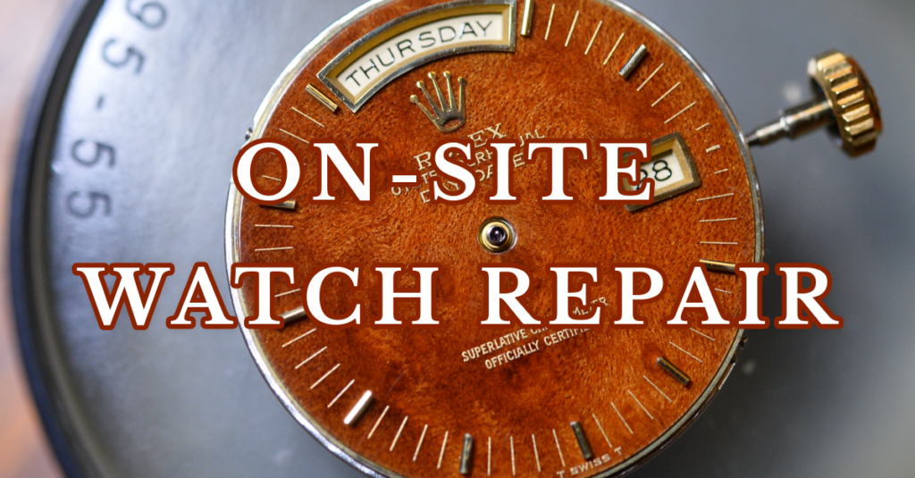 On-Site Watch Repair